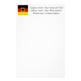 Vlag van Duitsland - Bundesdienstflagge Briefpapier