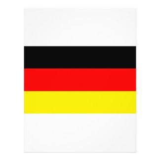 Vlag van Duitsland Flyer 21,6 X 27,9 Cm