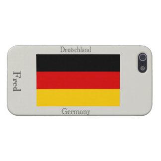 Vlag van Duitsland iPhone 5 Hoesje