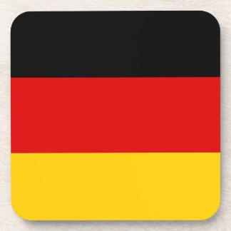 Vlag van Duitsland of Deutschland Bier Onderzetter