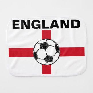 Vlag | van Engeland de Bal van het Football Baby Monddoekje