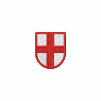 Vlag van Engeland Geborduurd Overhemd Geborduurd Poloshirt