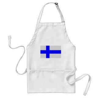 Vlag van Finland Standaard Schort