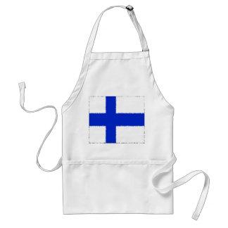 Vlag van Finland Schort