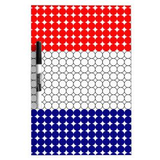Vlag van Frankrijk Whiteboard