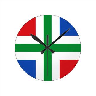 Vlag van Groningen (provincie) Ronde Klok