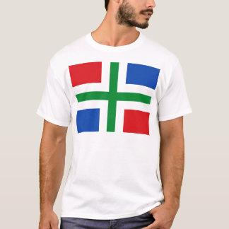 Vlag van Groningen (provincie) T Shirt