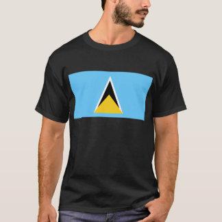 Vlag van Heilige Lucia T Shirt
