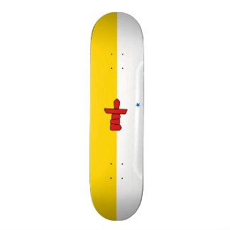 Vlag van het Dek van het Skateboard Nunavut