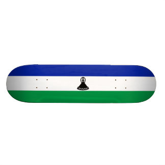 Vlag van het Dek van het Skateboard van Lesotho