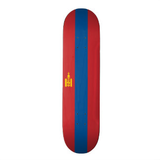 Vlag van het Dek van het Skateboard van Mongolië