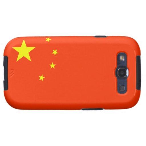 Vlag van het Geval van de Melkweg van China Samsun Samsung Galaxy S3 Hoesjes
