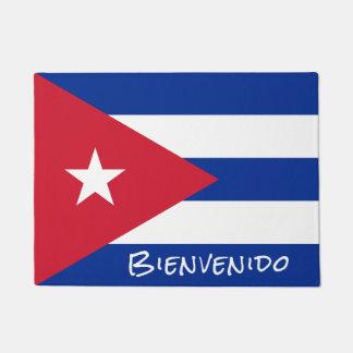 Vlag van het Onthaal van Cuba Deurmat
