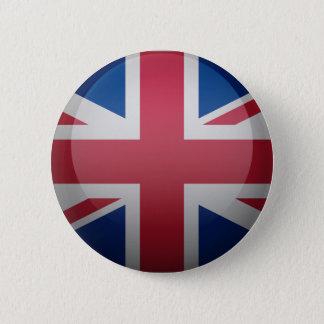 Vlag van het Verenigd Koninkrijk Ronde Button 5,7 Cm