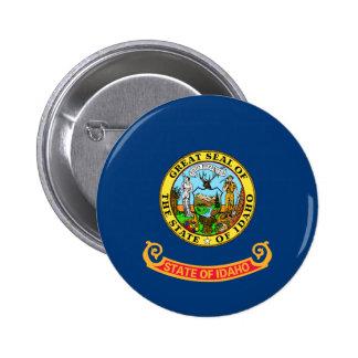 Vlag van Idaho Ronde Button 5,7 Cm
