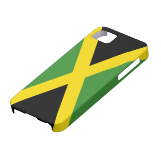 Vlag van iPhone 5 van Jamaïca hoesje-Partner Barely There iPhone 5 Hoesje