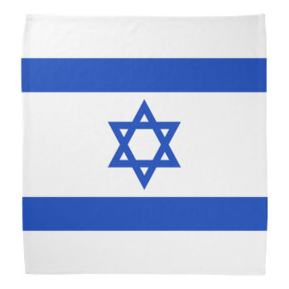 Vlag van Israël Bandana