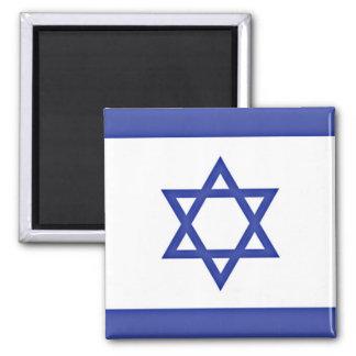Vlag van Israël Vierkante Magneet