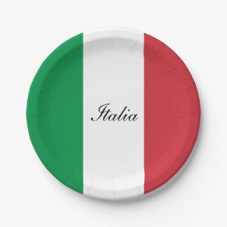 Vlag van Italië Papieren Bordje