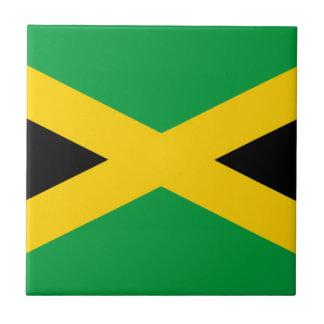 Vlag van Jamaïca - Jamaicaanse Vlag Tegeltje