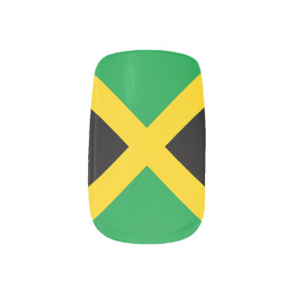 Vlag van Jamaïca Minx Nail Art