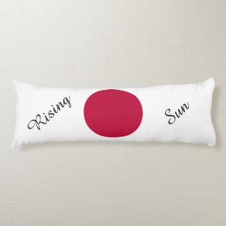 Vlag van Japan of Hinomaru Lichaamskussen