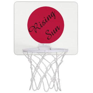 Vlag van Japan of Hinomaru Mini Basketbalring