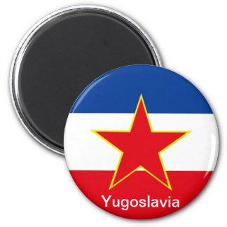 Vlag van Joegoslavië Magneet