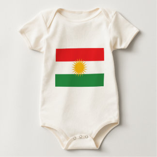 Vlag van Koerdistan (Alay Koerdistan of Alaya Baby Shirt