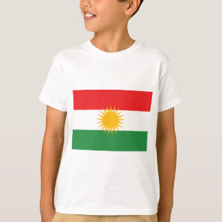 Vlag van Koerdistan (Alay Koerdistan of Alaya T Shirt