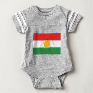 Vlag van Koerdistan; Koerd; Koerdisch Baby Bodysuit
