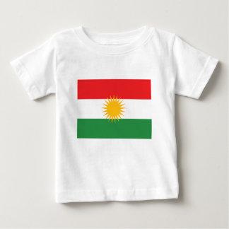 Vlag van Koerdistan; Koerd; Koerdisch Baby T Shirts
