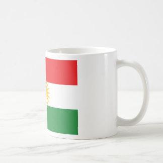 Vlag van Koerdistan; Koerd; Koerdisch Koffiemok