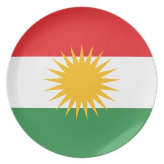 Vlag van Koerdistan; Koerd; Koerdisch Melamine+bord
