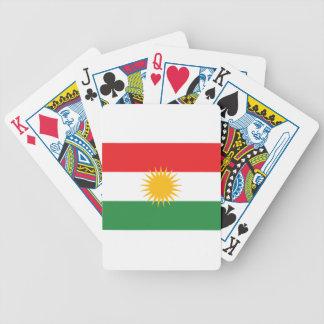 Vlag van Koerdistan; Koerd; Koerdisch Poker Kaarten