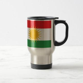Vlag van Koerdistan; Koerd; Koerdisch Reisbeker