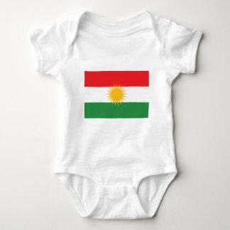Vlag van Koerdistan; Koerd; Koerdisch Romper
