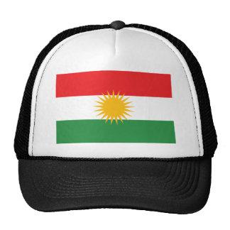 Vlag van Koerdistan; Koerd; Koerdisch Trucker Petten