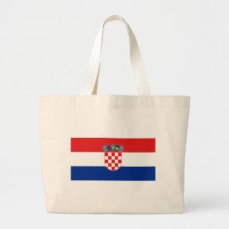 Vlag van Kroatië Grote Draagtas