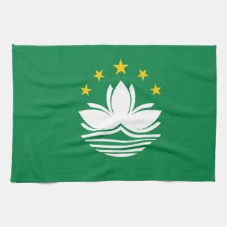 Vlag van Macao Theedoek