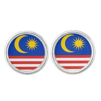 Vlag van Maleisië Jalur Gemilang Manchetknopen