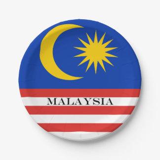 Vlag van Maleisië Jalur Gemilang Papieren Bordje