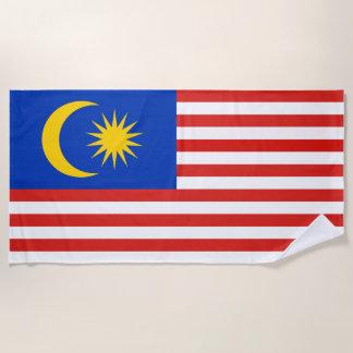 Vlag van Maleisië Jalur Gemilang Strandlaken