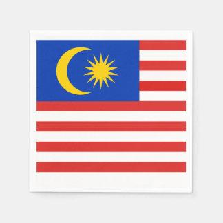 Vlag van Maleisië Jalur Gemilang Wegwerp Servet