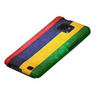 Vlag van Mauritius Galaxy SII Hoesjes
