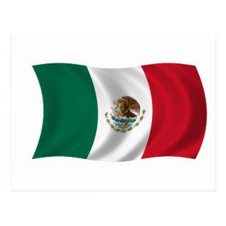 Vlag van Mexico Briefkaart