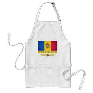 Vlag van Moldova Standaard Schort