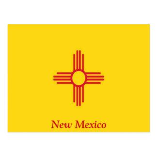 Vlag van New Mexico Briefkaart