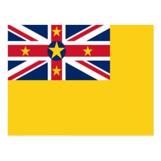 Vlag van Niue Briefkaart