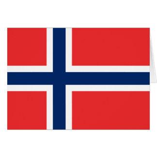 Vlag van Noorwegen Kaart